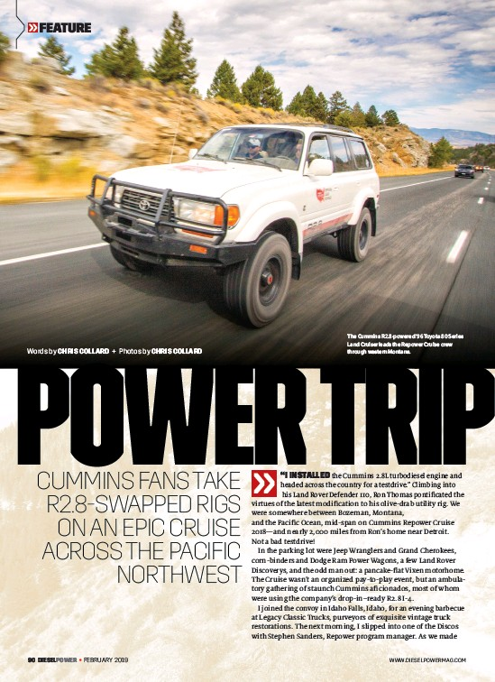 PressReader - Diesel Power: 2019-02-01 - POWER TRIP