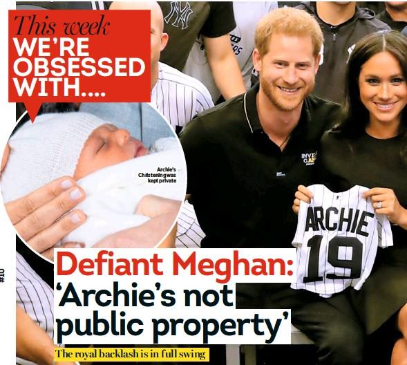 """PressReader - Heat (UK): 2019-07-09 - Meghan's """"hypocritical"""