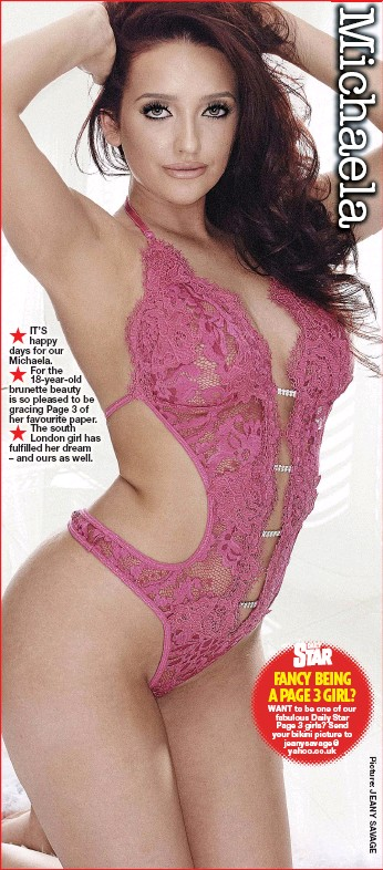 London Page 3 >> Pressreader Daily Star 2019 05 03 Fancy Being A Page 3