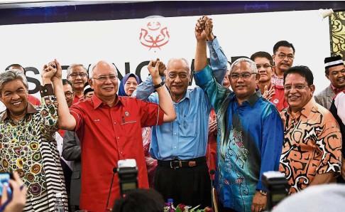 Image result for Najib and Tengku Adnan