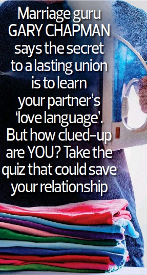 PressReader - Daily Mail: 2019-03-11 - Don't tell me you love me
