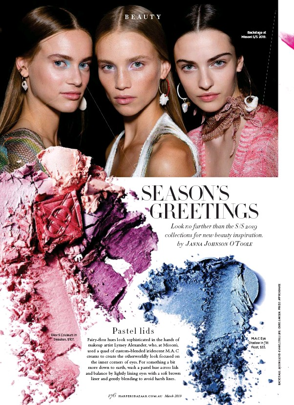 Pressreader Harpers Bazaar Australia 2019 02 04 Seasons