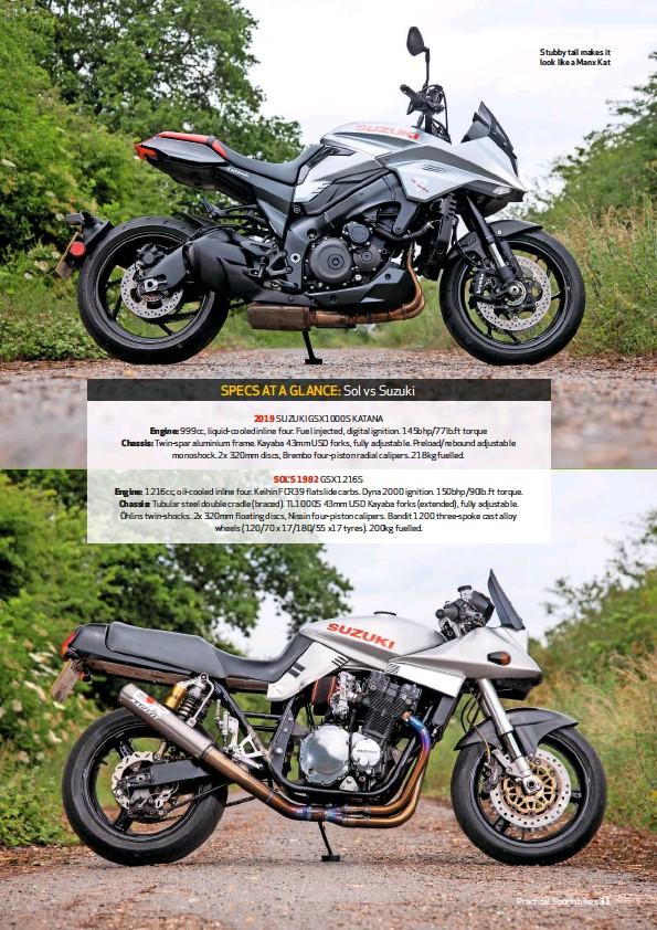 PressReader - Practical Sportsbikes (UK): 2019-08-01 - SPECS AT A