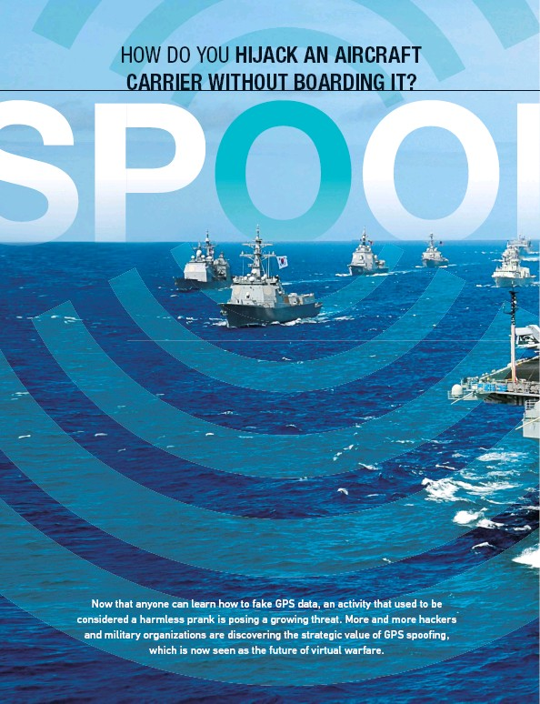 PressReader - iD magazine: 2019-11-01 - GPS Spoofing