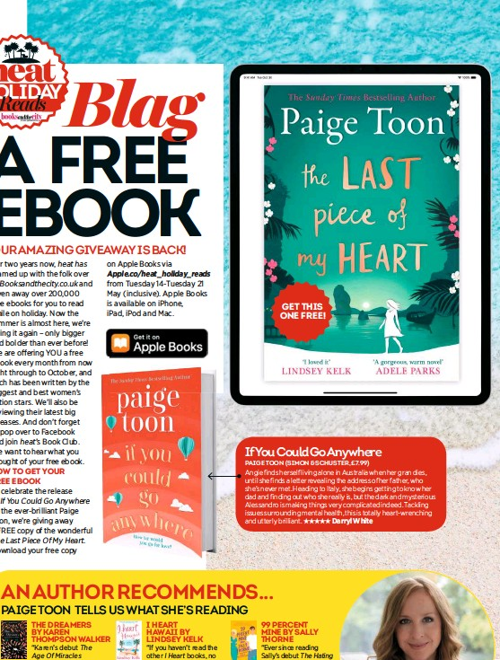 PressReader - Heat (UK): 2019-05-14 - Blag a free ebook with Holiday