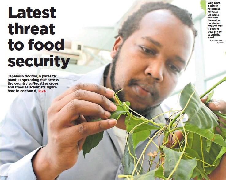 PressReader - Daily Nation (Kenya): 2018-11-03 - Latest threat to