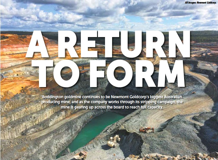 PressReader - The Australian Mining Review: 2019-05-01 - Boddington
