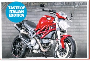 Fantastic Pressreader Motorcycle News Uk 2019 09 11 Ducati Onthecornerstone Fun Painted Chair Ideas Images Onthecornerstoneorg