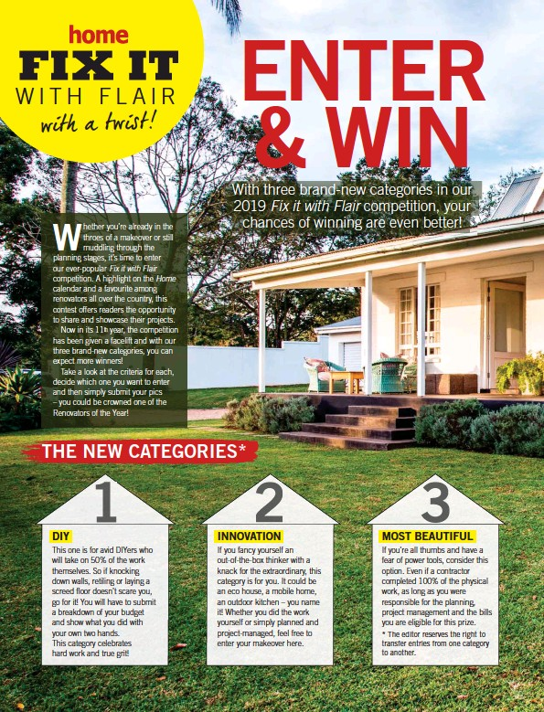 Win A Free Home Makeover 2019