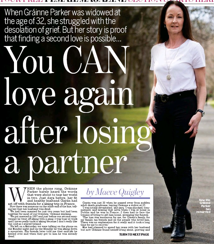 PressReader - Irish Daily Mail: 2018-04-12 - You CAN love