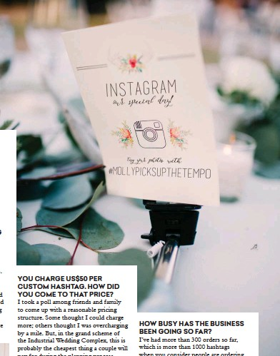 Wedding Hashtag Generator Puns.Pressreader Collective Hub 2017 11 27 5 Minutes With A