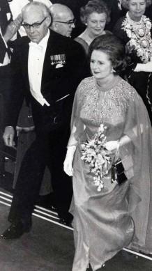 DebutMargaret Thatcher At The Banquet In 1979