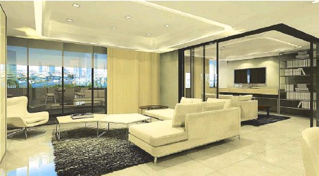 A family-friendly home is all about open spaces and soft edges for designers  Ivy Almario and Cynthia Almario.