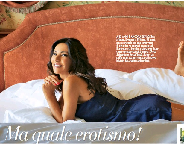 Emanuela Folliero Calendario.Pressreader Gente 2018 09 08 La Folliero Piu Sexy Che