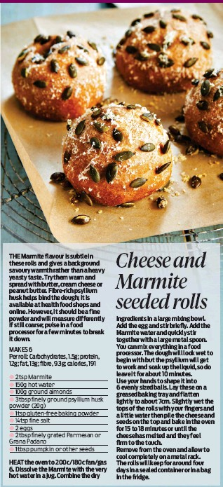 PressReader - Daily Mail: 2019-09-23 - Cheese and Marmite