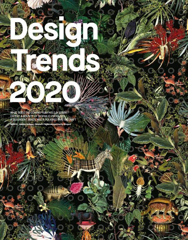 Craft Trends 2020.Pressreader Azure 2019 10 01 Design Trends 2020