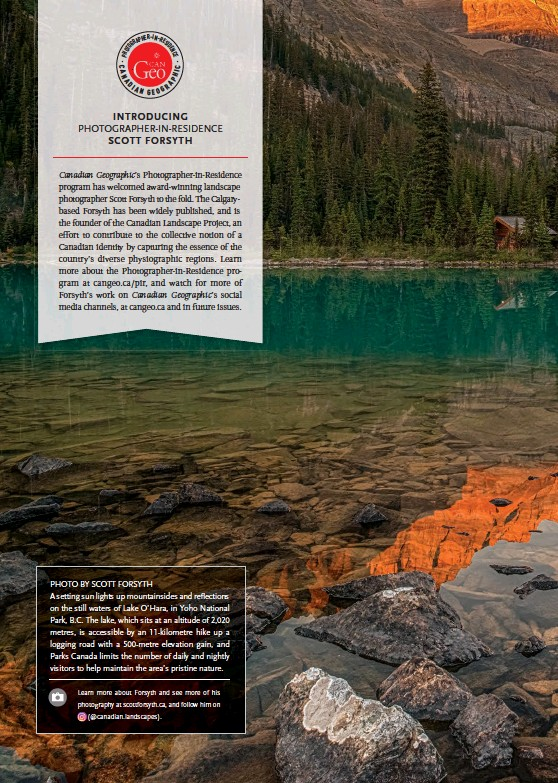 PressReader - Canadian Geographic: 2019-08-12 - BIG PICTURE