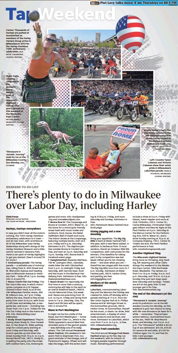 PressReader - Milwaukee Journal Sentinel: 2018-08-31