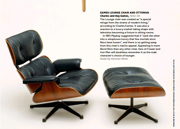 Strange Pressreader The Simple Things 2017 02 22 Eames Lounge Alphanode Cool Chair Designs And Ideas Alphanodeonline