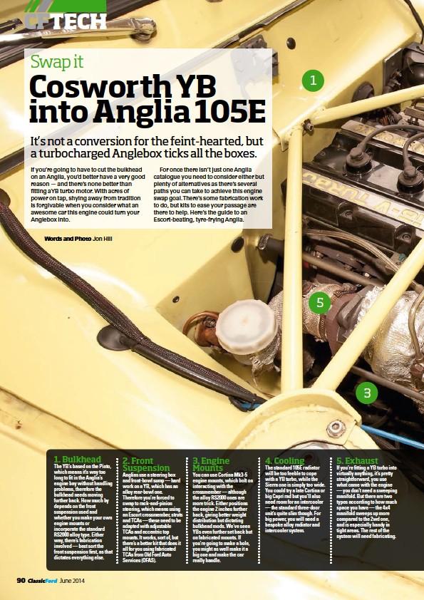 PressReader - Classic Ford: 2014-04-25 - Cosworth YB into