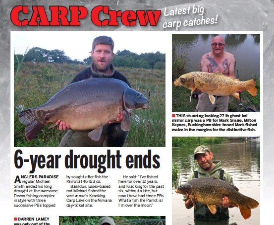 PressReader - Anglers Mail: 2018-08-07 - 6-year drought ends