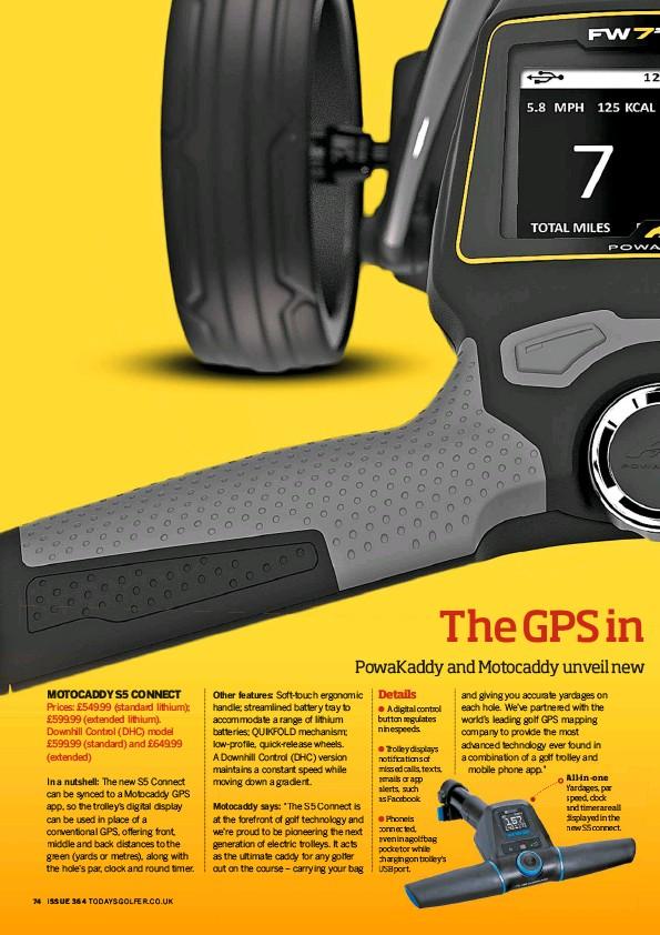 PressReader - Today's Golfer (UK): 2017-09-01 - The GPS in