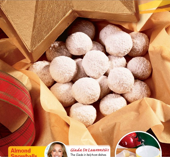 Pressreader First For Women 2018 11 14 Almond Snowballs