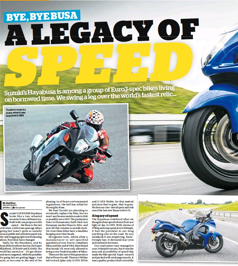 PressReader - Motorcycle News (UK): 2017-12-20 - THE END OF