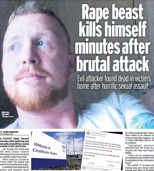 PressReader - Daily Record: 2018-08-11 - Rape beast kills