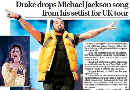 PressReader - Millennium Post: 2019-03-13 - Drake drops