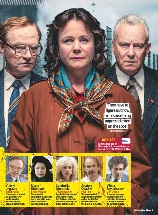 PressReader - TV & Satellite Week: 2019-05-04 - Chernobyl