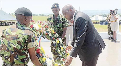PressReader - Swazi Observer: 2018-11-12 - SHOWING RESPECT: