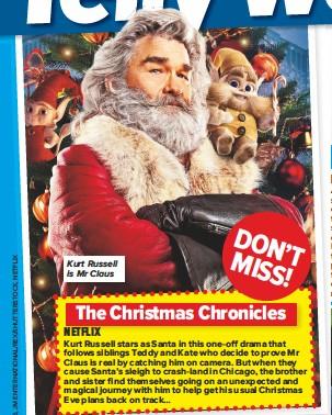 Christmas Chronicles Sleigh.Pressreader Chat 2018 11 22 The Christmas Chronicles