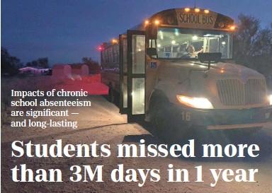 PressReader - The Arizona Republic: 2019-01-05 - Students missed