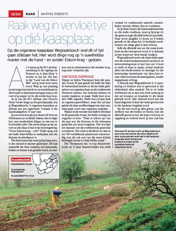 PressReader - Landbouweekblad: 2015-04-10 - Raak weg in