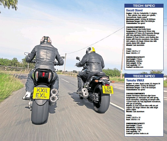 PressReader - Motorcycle Monthly: 2017-03-17 - Why the Ducati Diavel