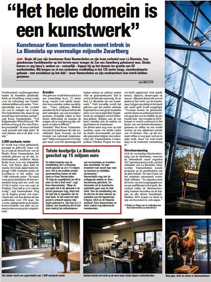 """PressReader - Het Belang van Limburg: 2017-01-21 - """"Het hele"""
