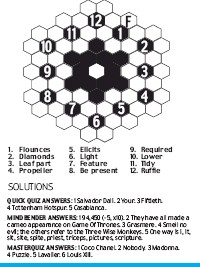 PressReader - Daily Mail: 2018-09-27 - HONEYCOMB PUZZLE