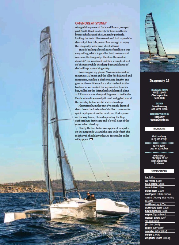 PressReader - Boating NZ: 2018-12-01 - Dragonfly 25