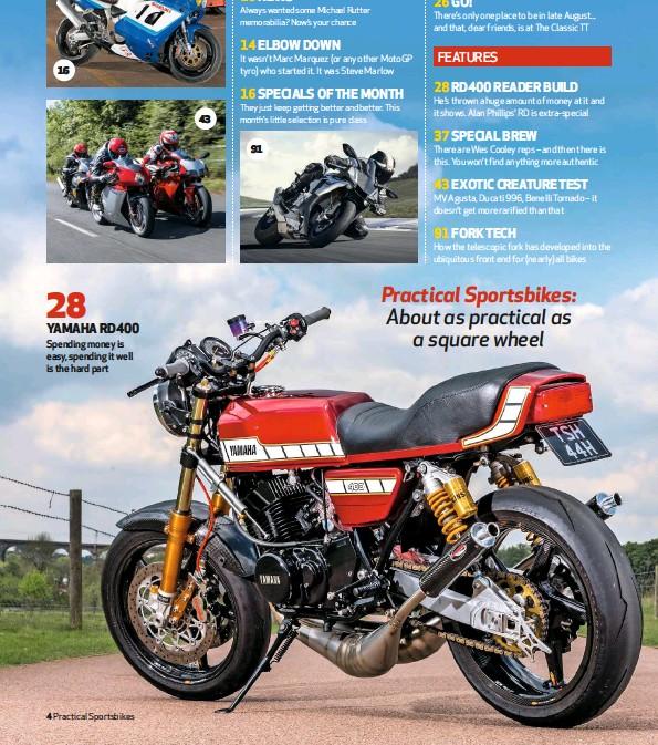 PressReader - Practical Sportsbikes (UK): 2019-07-01 - YAMAHA RD400