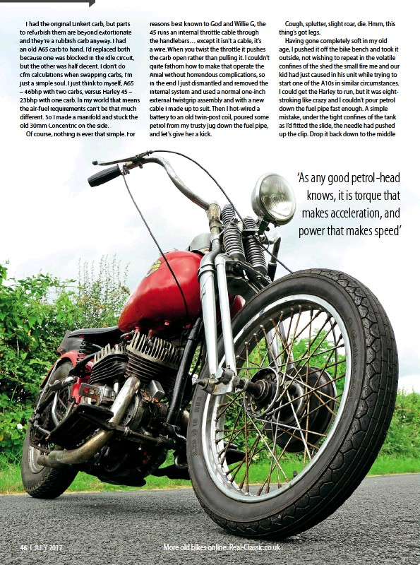 PressReader - Real Classic: 2017-07-01 - HARLEY 45