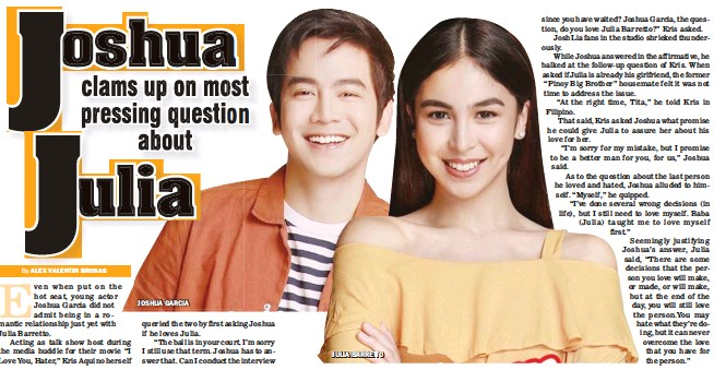 PressReader - Manila Bulletin: 2018-06-24 - Joshua clams up on most
