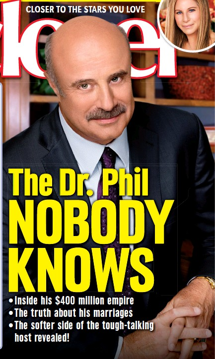 PressReader - Closer Weekly: 2018-04-06 - The Dr  Phil NOBODY KNOWS