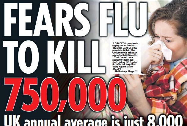 PressReader - Daily Star: 2018-01-09 - FEARS FLU TO KILL 750