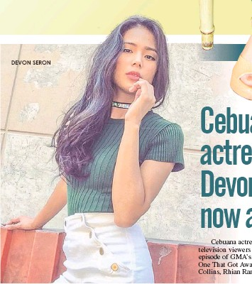 PressReader - The Freeman: 2018-03-11 - Cebuana actress