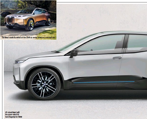 2021 BMW X5 Will Introduce Electric Version >> Pressreader Autocar 2019 05 08 Bmw Inext