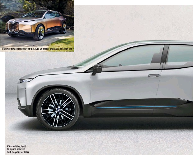 2021 BMW X5 Will Introduce Electric Version >> Pressreader Autocar 2019 05 08 Bmw Inext