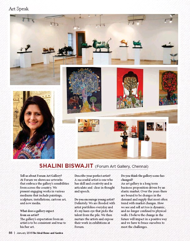 PressReader - The Ideal Home and Garden: 2018-01-10 - SHALINI BISWAJIT