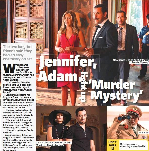 PressReader - Gulf News: 2019-06-20 - Jennifer, Adam light