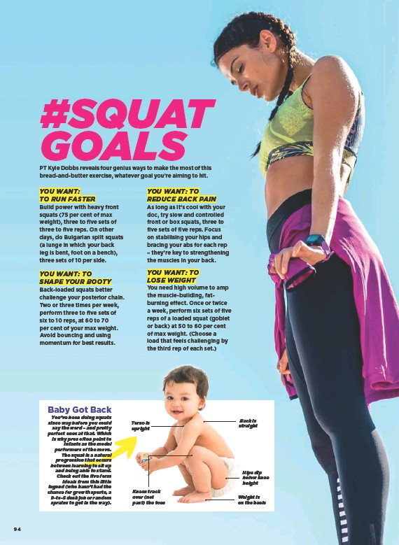 PressReader - Women's Health Australia: 2018-06-01 - #SQUAT